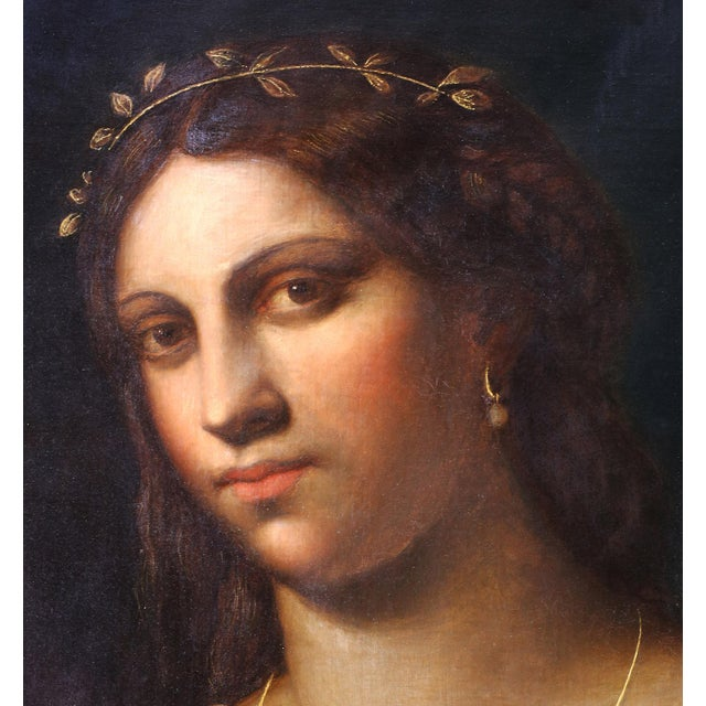 Portrait of La Fornarina After Sebastian Del Piombo For Sale - Image 4 of 6