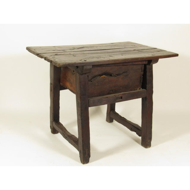 Iron 17th C. Spanish Side Table For Sale - Image 7 of 7