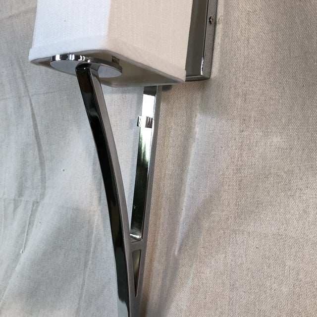 Modern Justice Design Group Sabre 1-Light Wall Sconce For Sale - Image 3 of 11