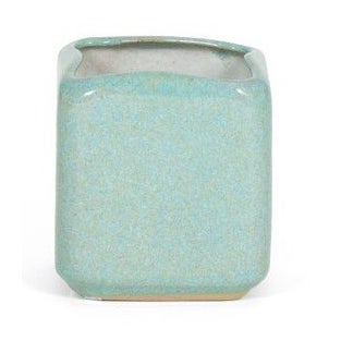 Glidden Ceramic Turquoise Planter For Sale