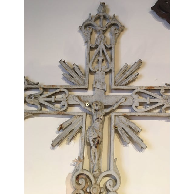 Antique French Vineyard Cross For Sale - Image 4 of 6