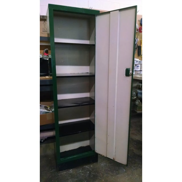 Vintage Metal Industrial Storage Locker - Image 3 of 8
