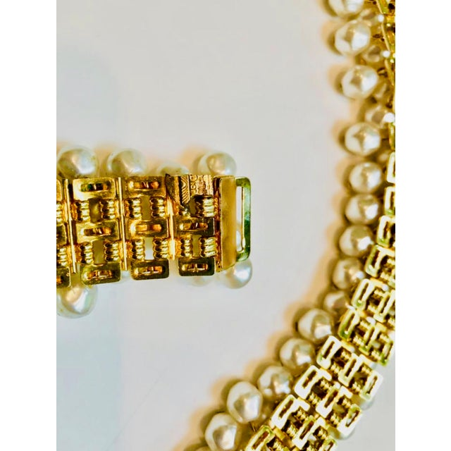 1980s Christian Dior Pearl Belt For Sale - Image 9 of 12