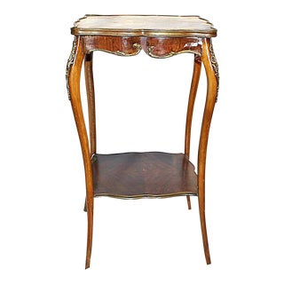 Antique French Rosewood End Table