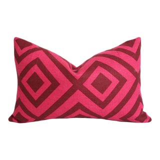 La Fiorentina Wine & Magenta Pillow Cover 13x19
