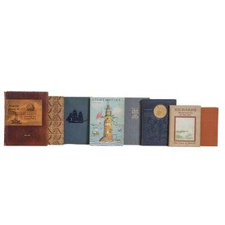 Vintage Crimson Tide Nautical Book Set, (S/25) Preview