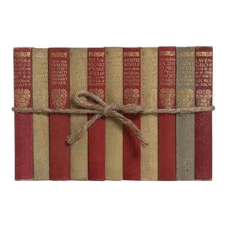 Vintage Heartfelt Classics Book Gift Set, S/11 For Sale
