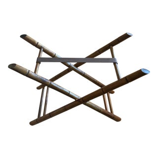 Bamboo Style Luggage Rack /Pop Up Table For Sale