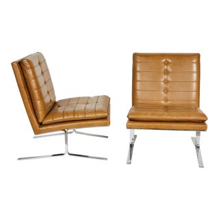 Pair of Midcentury Lounge Chairs For Sale
