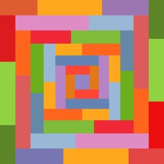 """Honeymoon - Part 3"" Contemporary Geometric Digital Print by Sassoon Kosian For Sale"