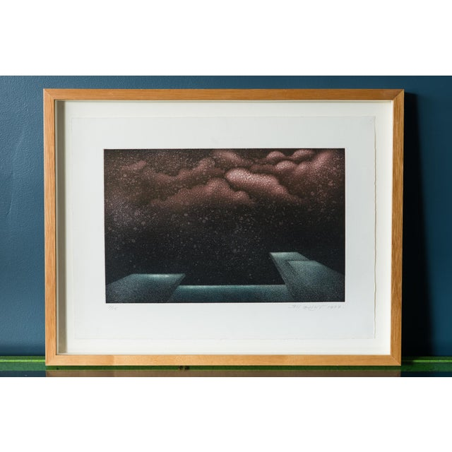 1977 Signed Abstract Lithograph - Image 2 of 7
