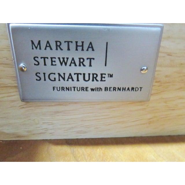 Metal Regency Style Bernhardt Cherry Sideboard For Sale - Image 7 of 9