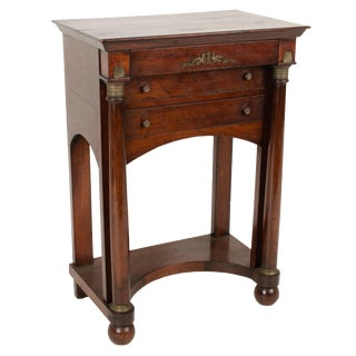 19th Century French Empire Style Side Table For Sale