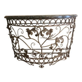 Artifacts International Iron Console Table