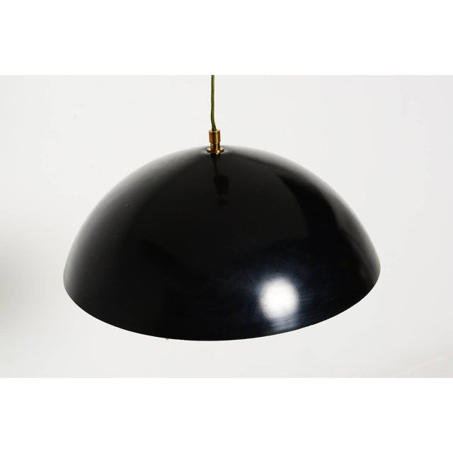 1950s Stilux Milano Hanging Light Fixture For Sale - Image 5 of 10