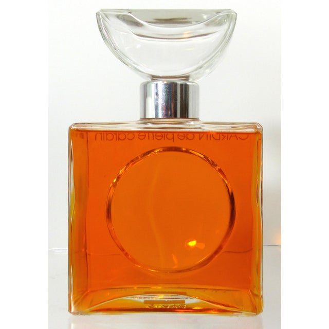 Store Display Pierre Cardin Purfume Bottle - Image 4 of 10