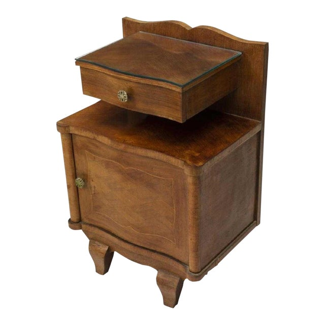 1930s French Art Deco Floating Drawer Cabinet For Sale