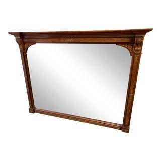 Eastlake Style Mantel Mirror For Sale