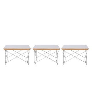 Eames Herman Miller Ltr Side Tables For Sale