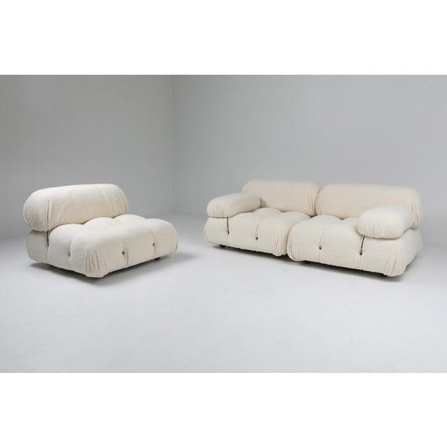 Camaleonda Bouclé Wool Sectional Sofa by Mario Bellini For Sale - Image 6 of 8
