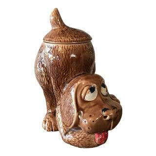 1970's McCoy Pottery Dog Jar For Sale