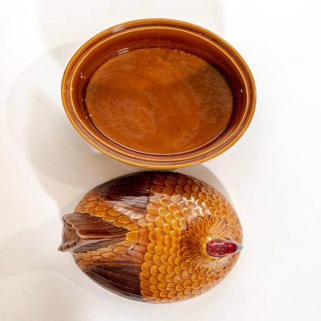 Vintage Steuler Keramik Large Nesting Hen Casserole Covered Dish For Sale - Image 10 of 13