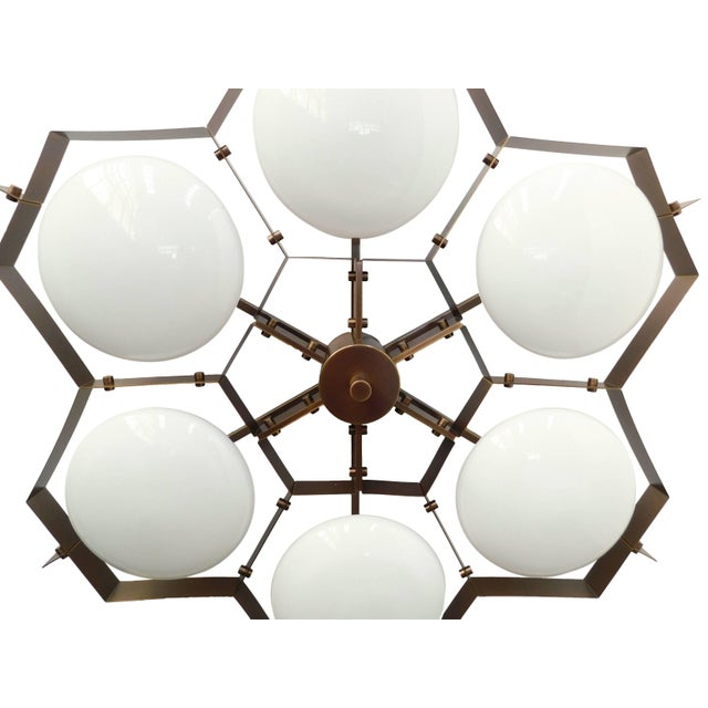 Beehive Flush Mount by Fabio Ltd For Sale In Palm Springs - Image 6 of 10