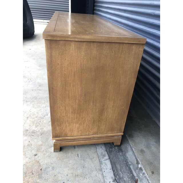 Mid 20th Century Mid Century American of Martinsville Chinoiserie Dresser For Sale - Image 5 of 13
