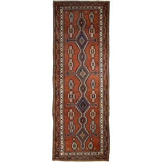 "Persian Bakhtiar Runner- 3'6"" x 10' For Sale"