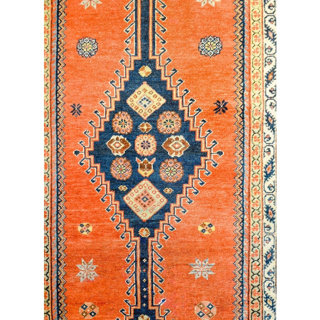 Tribal Wonderful Late 19th Century Antique Azari Rug For Sale - Image 3 of 7