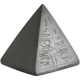 Egyptian-Export Stone Pyramid