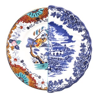 Seletti, Valdrada Hybrid Dessert Plate, Set of Six, Ctrlzak, 2011/2016 For Sale