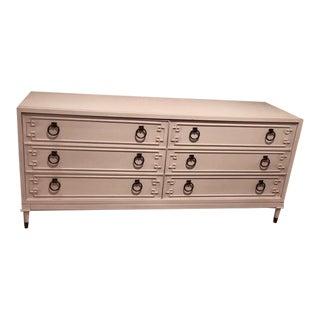 Hollywood Regency Vanguard Furniture McGuire Dresser For Sale