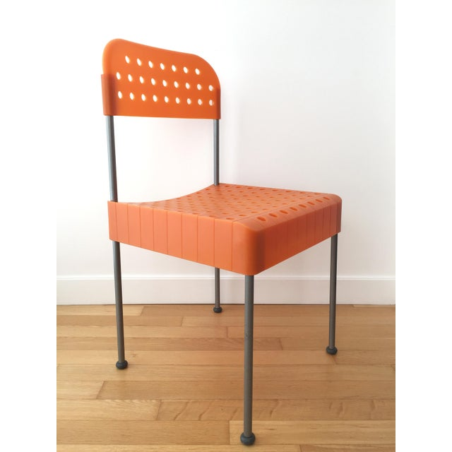 Late 20th Century Vintage Enzo Mari Box Chairs Produced by Aleph Atlantide (Driade) - a Pair For Sale - Image 12 of 13