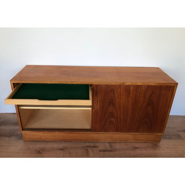 1960s 1960s Paol Hundevad Restored Compact Teak Credenza For Sale - Image 5 of 12