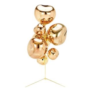 Tom Dixon Melt Gold Stand Chandelier For Sale