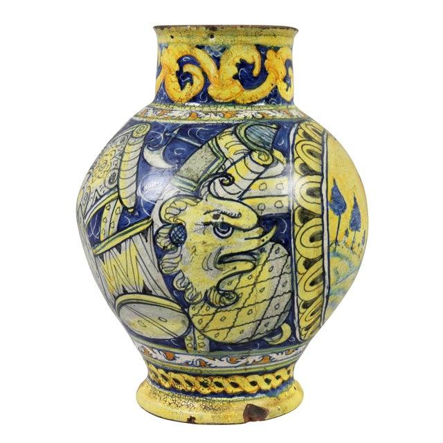 Roman Majolica Pot For Sale In Boston - Image 6 of 10