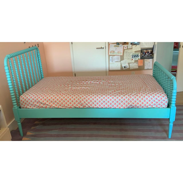 Crate & Barrel Jenny Lind Twin Bed For Sale - Image 4 of 6