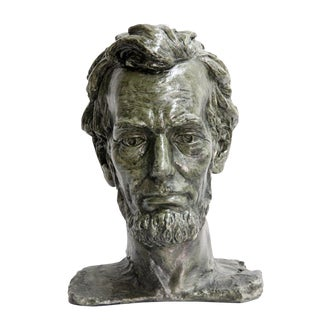 Abraham Lincoln Bust Sculpture For Sale