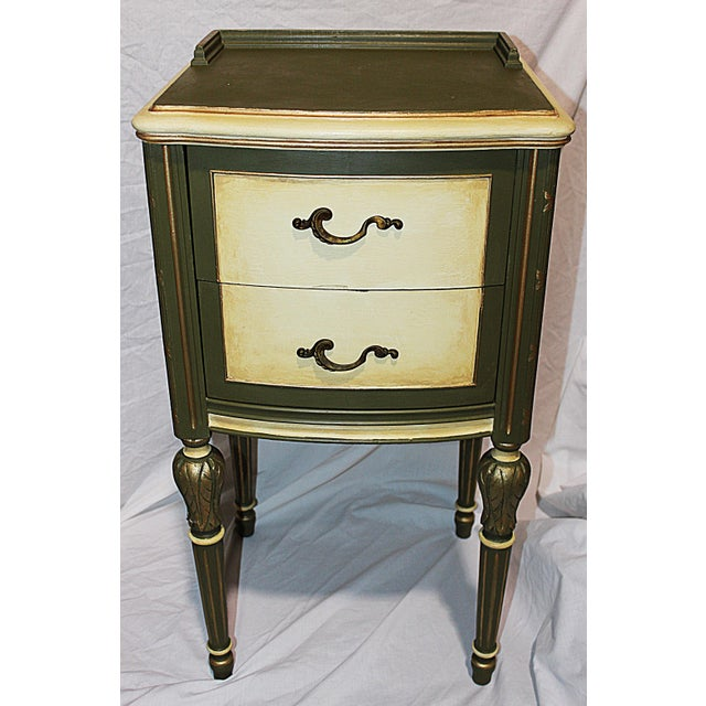 Vintage 1920s Mahogany Painted End Table - Image 3 of 10