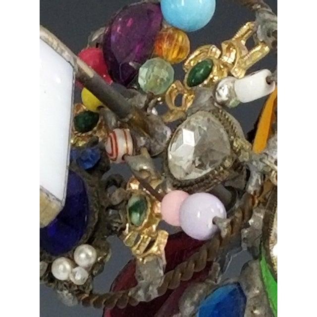 Large Handmade Kaleidoscope - 1985 San Francisco Murano Art Glass For Sale - Image 10 of 12