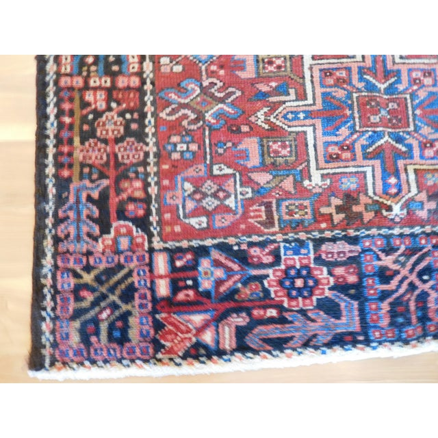 "Islamic Vintage Persian Heriz Rug - 3""6"" X 6' For Sale - Image 3 of 5"