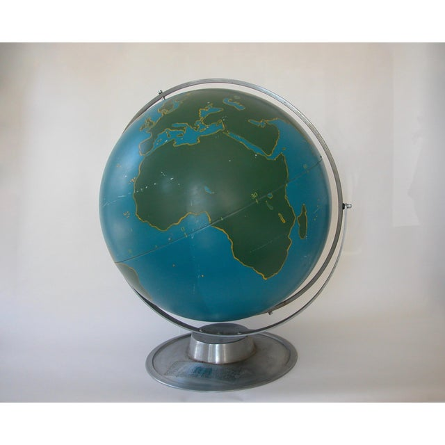 Vintage Nystrom Aviation Globe For Sale - Image 11 of 11