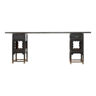 Antique Sarreid LTD Ming Style Console Table For Sale