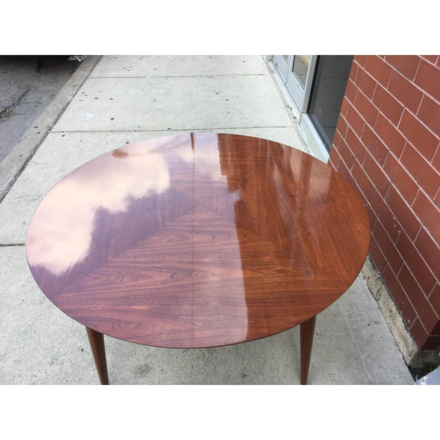Mahogany Mid-Century Cocktail Table For Sale - Image 9 of 12