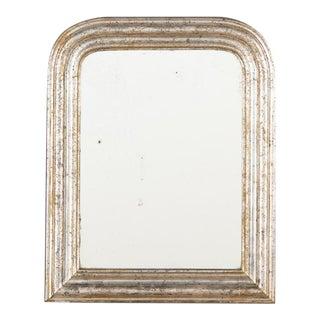 19th Century Louis Philippe Silver Gilt Mirror