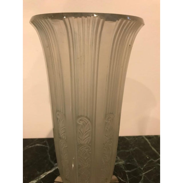 World Class Rare French Art Deco Vase By Hettier Vincent Decaso