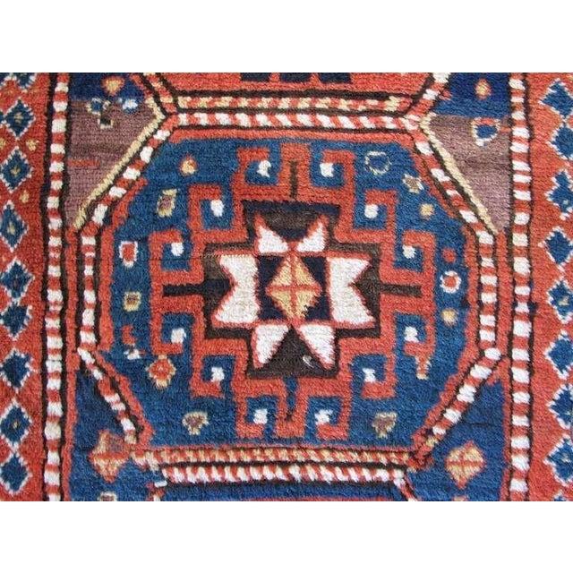 Late 19th Century Caucasian Kazak Rug For Sale - Image 5 of 8