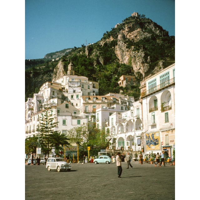 Italian Vintage 1960s Italy Amalfi Coast Film Photograph Prints - Set of 2 For Sale - Image 3 of 6