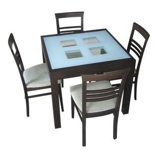 Scandinavian Designs Modern Dining Set
